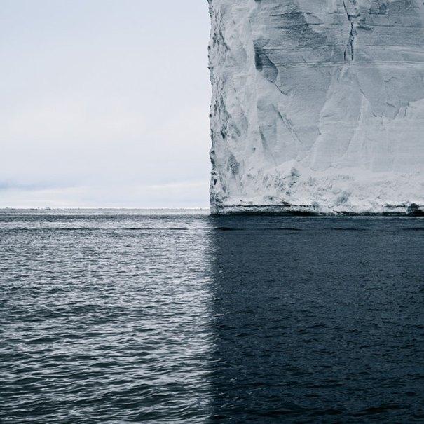 Antártica, 4 tons de azul