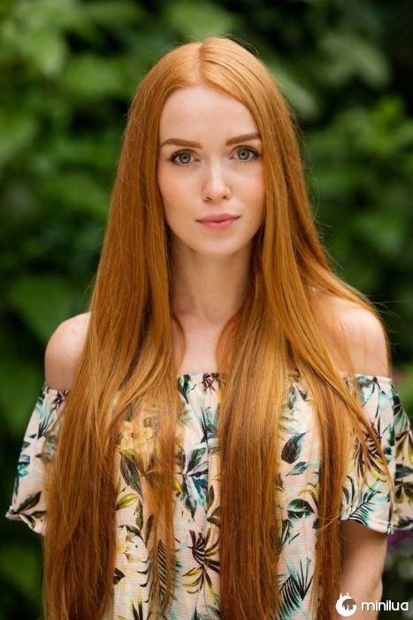 cabelo liso mulher de cabelos