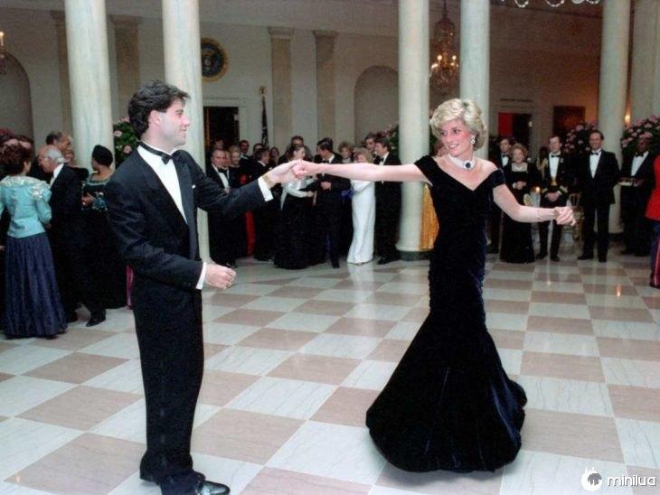 dança da princesa Diana