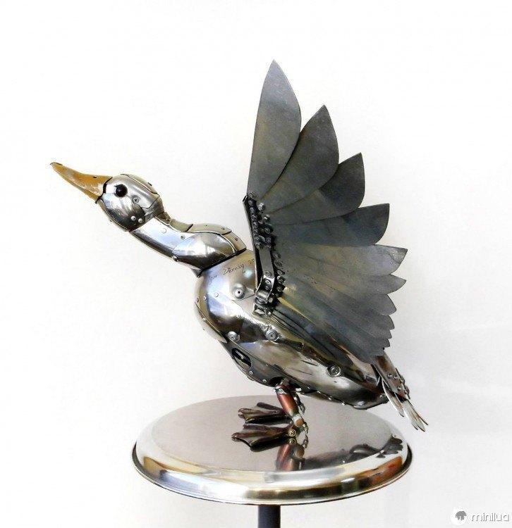 Goose feito de lixo Igor Verniy