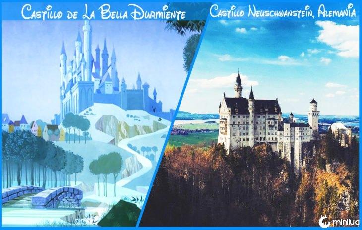 Castelo verdadeira beleza dormir e Disney