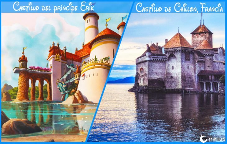 erik prince castelo real e Disney