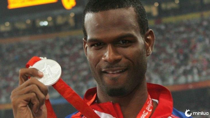 Germain Mason, medalhista de prata em Pequim