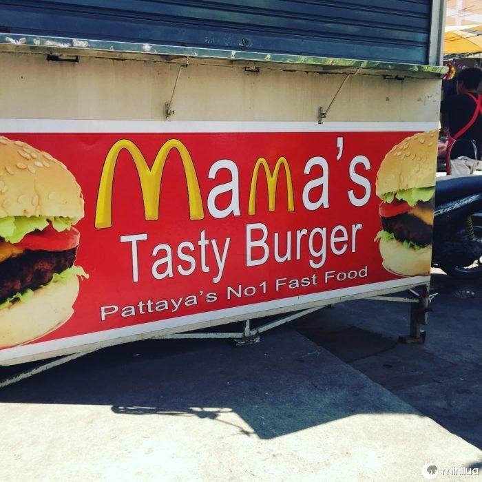 estação de hambúrgueres pirata MacDonalds