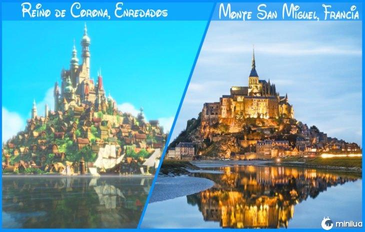 coroa real e reino da Disney