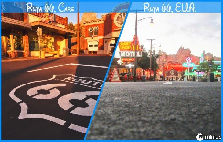 Royal Route 66 e Disney