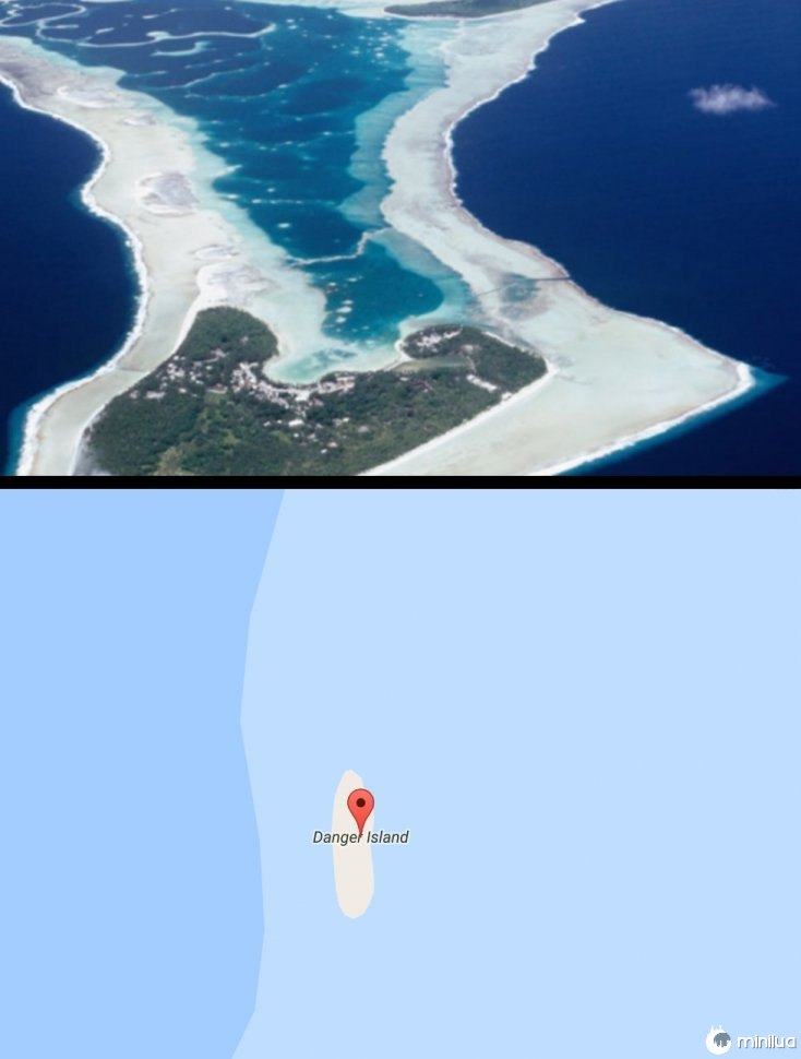 ilhas perigosas