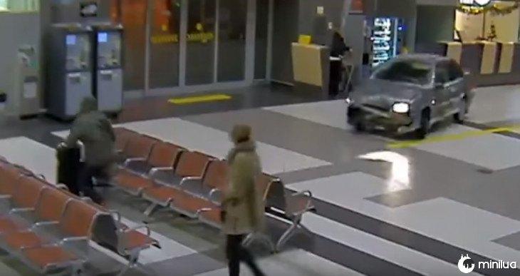 carro do aeroporto
