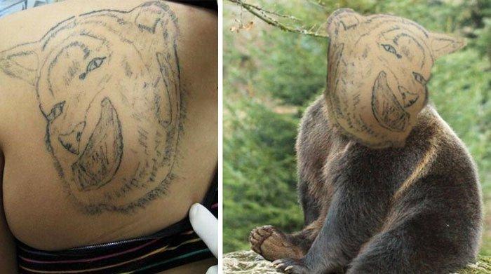 pior tatuagem rosto troca 12