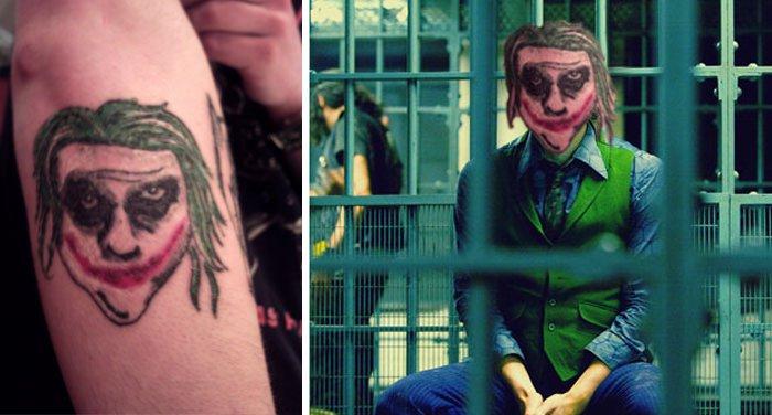 pior tatuagem rosto troca 13
