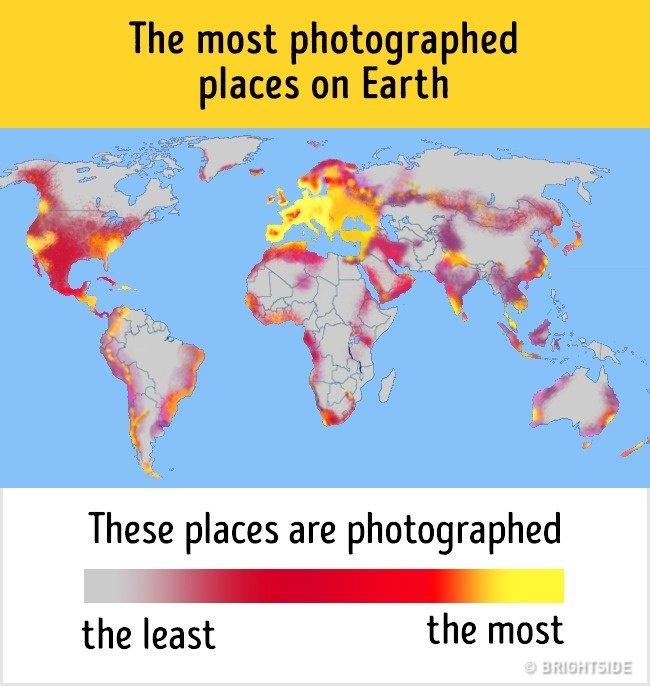 mapa fotografado