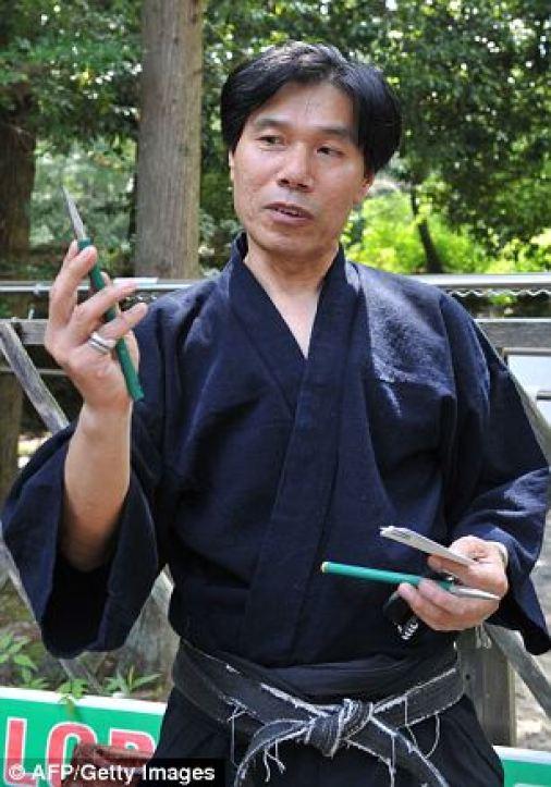 Kawakami Jinichi o último ninja 4