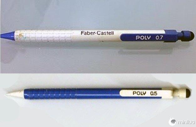 As inesquecíveis Poly zero-cinco e Poly zero-sete: