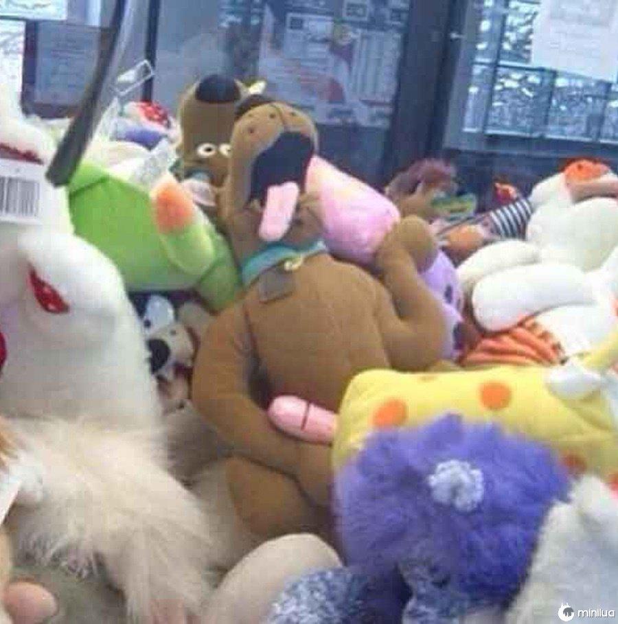 Há uma razão pela qual Scooby Doo nunca é pego.