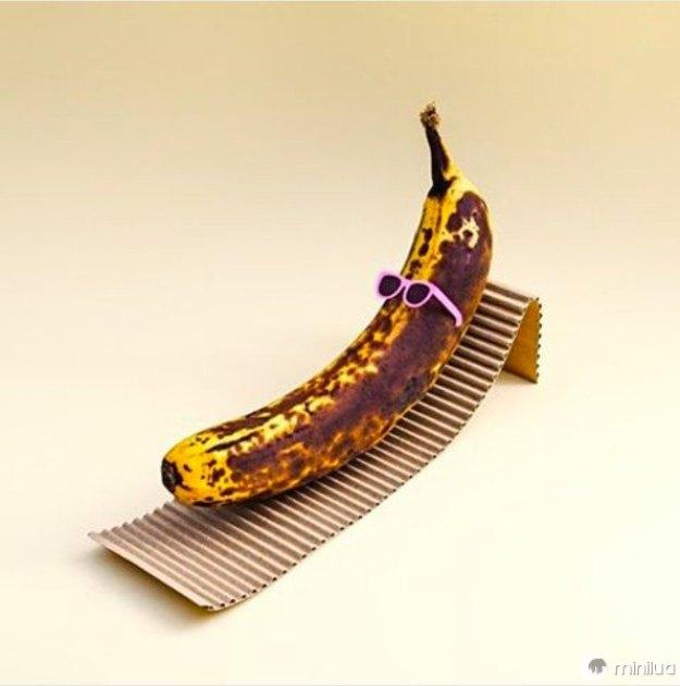 As bananas precisam tomar um solzinho.