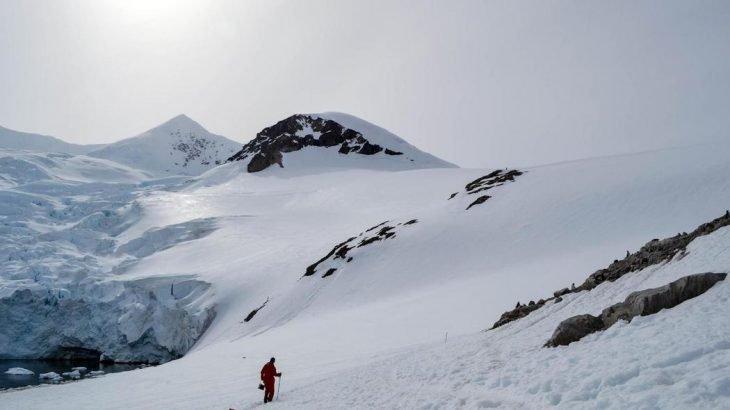 os mistérios da Antártida