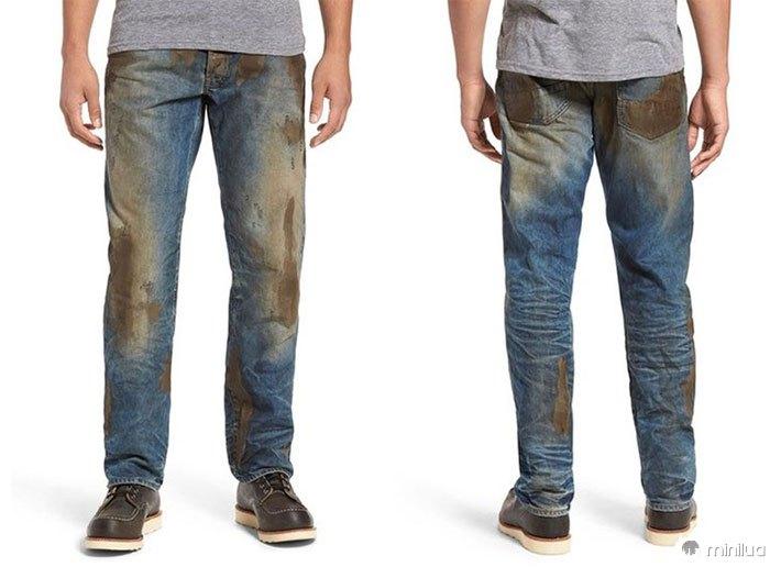 'Muddy' Jeans