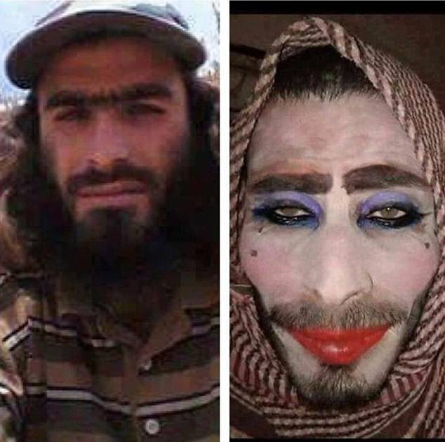 Jihadista disfarçado de mulher