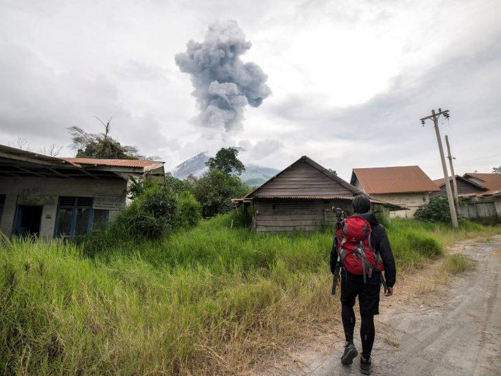 Se cuela a una ciudad volcán y toma estas fantásticas fotografías 1
