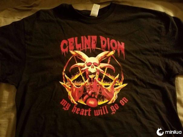 Minha nova camisa é metal Af