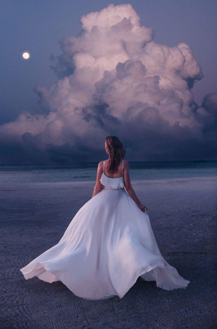 Finolhu, Maldives. Model: Nastya