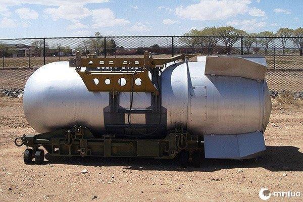 TX-21 Camarão bomba nuclear