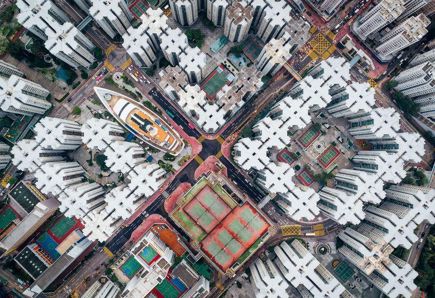 Vencedor do Segundo Lugar, Cidades: Walled City # 08, Hong Kong