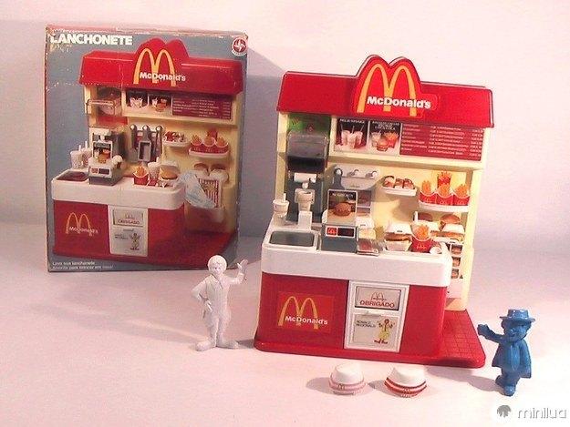 A lanchonete do McDonald's, que fazia a gente se sentir um funcionário da lanchonete.