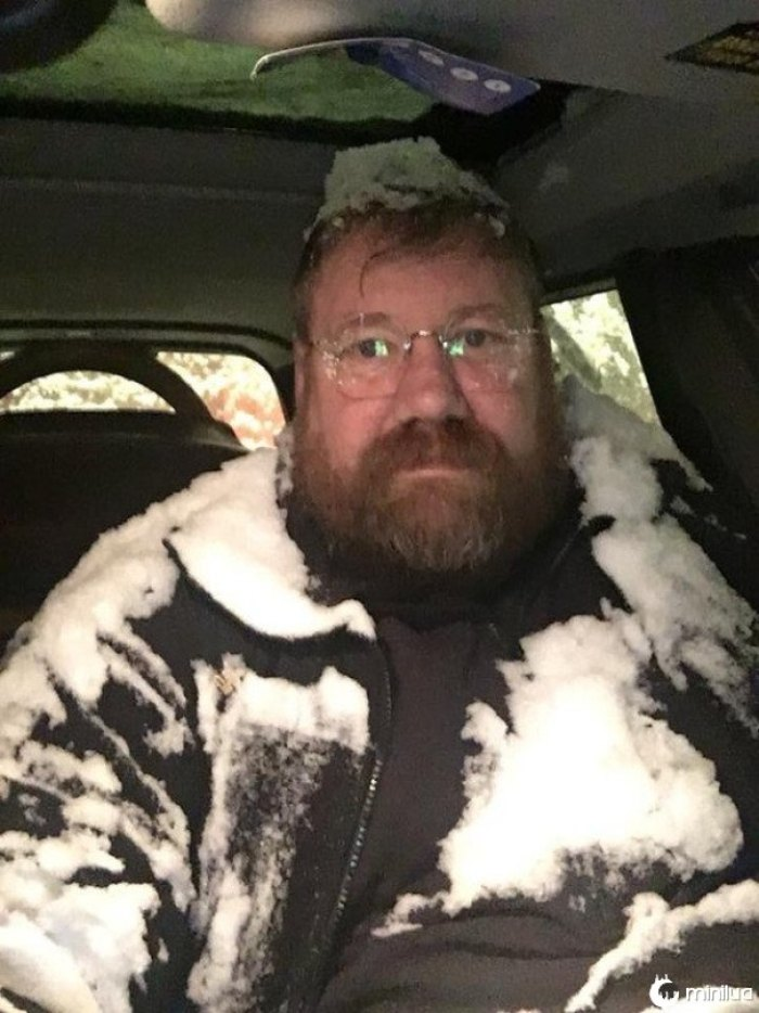 What Happens When You Go For The Rear Defrost But Hit The Sun Roof. Alaska Style