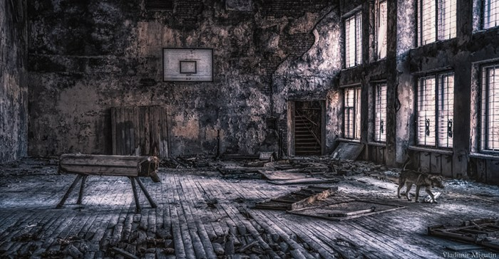 Pripyat Sports Hall, Zona de Exclusão de Chernobyl