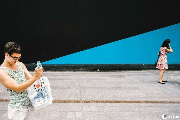 Coincidências indignas surpreendentes na fotografia da rua Nova York de Jonathan Higbee