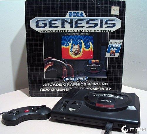 Videogame sega genesis