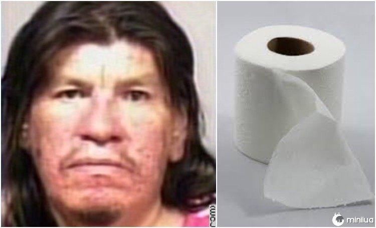 Crow matou seu colega de quarto por papel higiênico