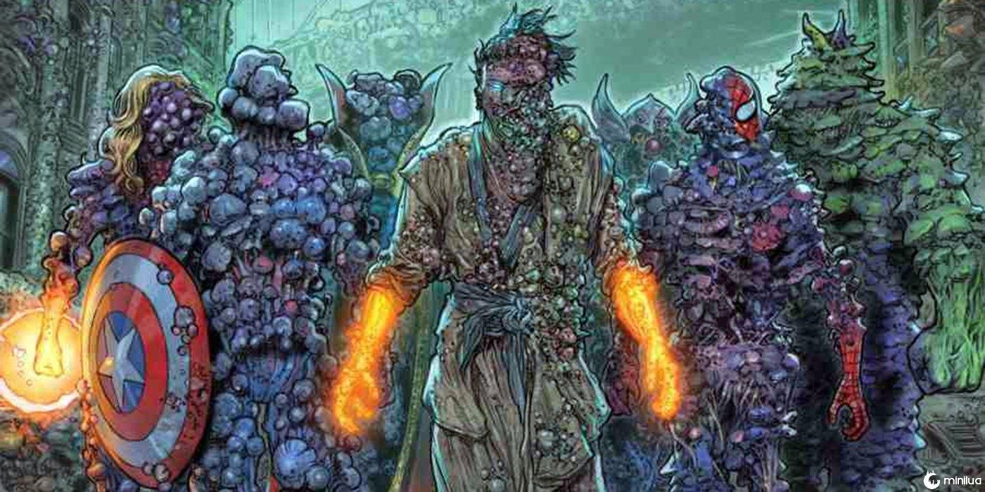 Contágio: A terrível peste da Marvel acaba de se tornar um grande sucesso - Minilua