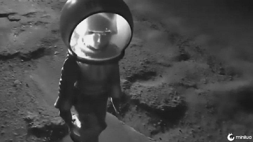Menina recria pouso na Lua para chamar a atenção para os buracos na estrada | Minilua