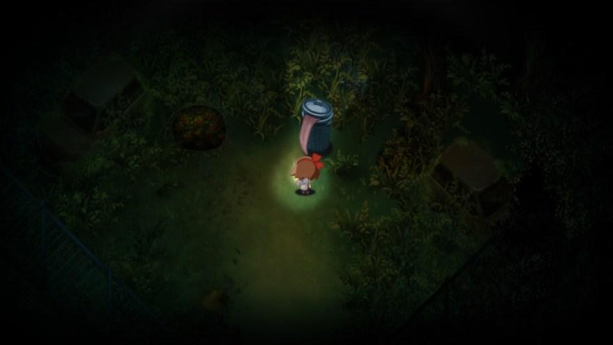 夜廻のゲーム画面