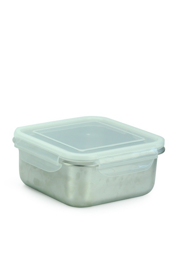 6c1fc4c12 Airtight Food Container Square Clear - 1.7L - Minimal