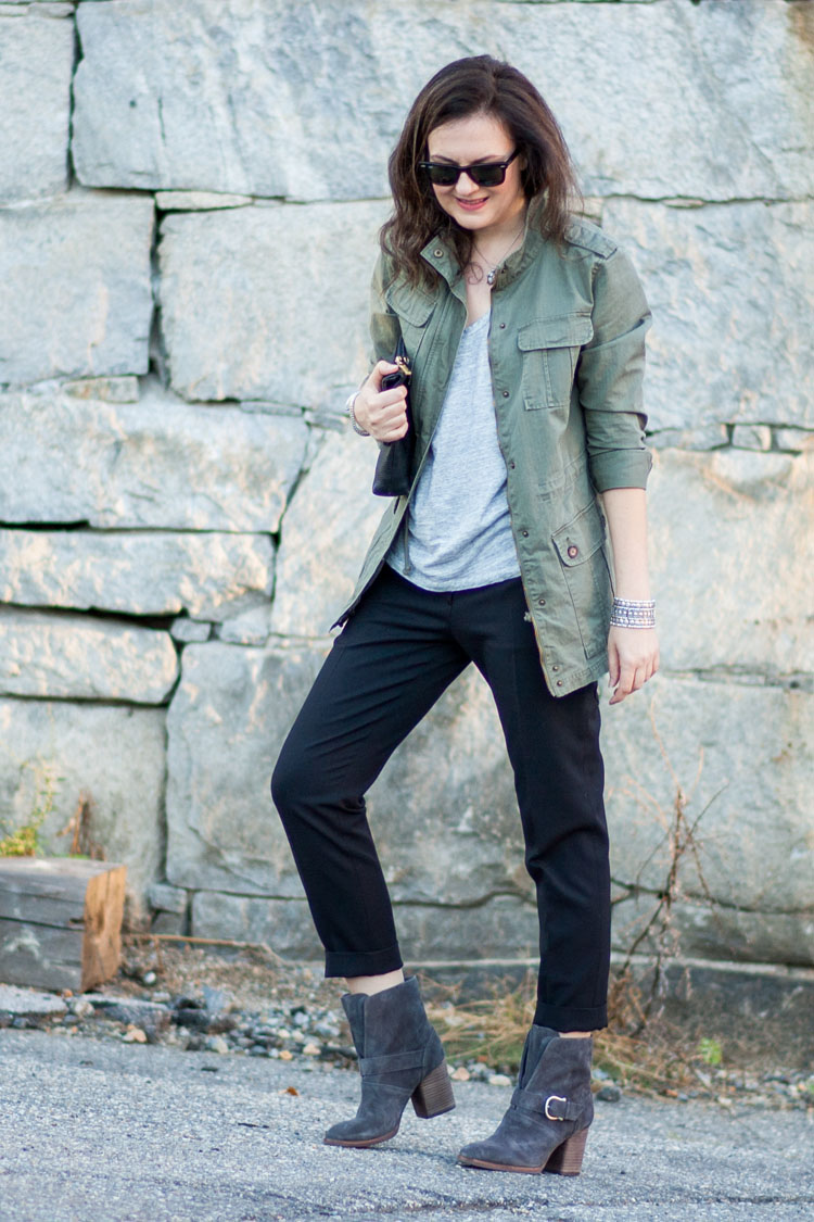 Image result for military jacket casual outfit