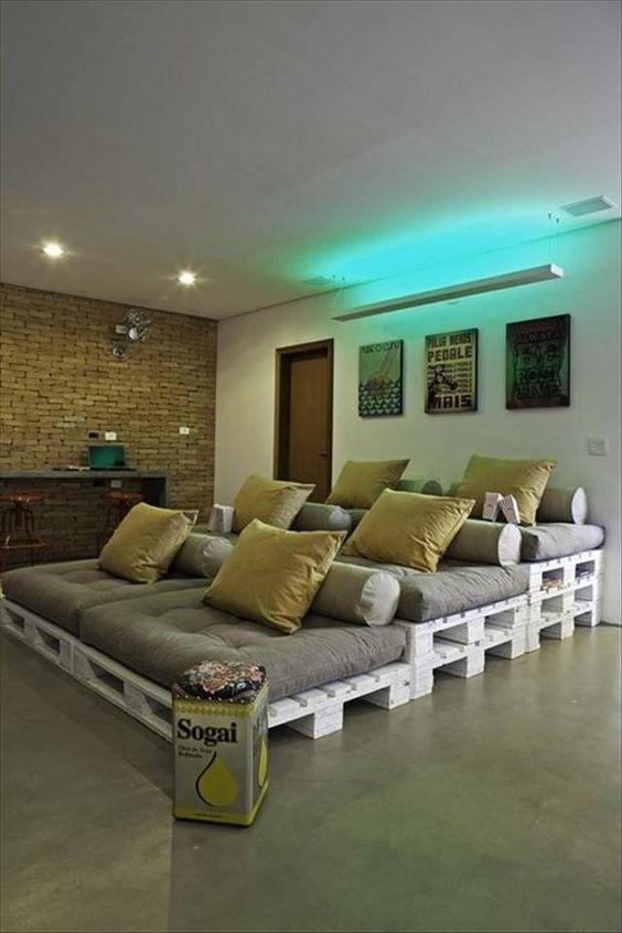Muebles minimalistas, con palets de madera! - Minimalismo.XYZ