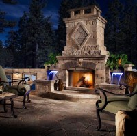 Patio Fireplaces: The Natural Heating Choice | Desain ...