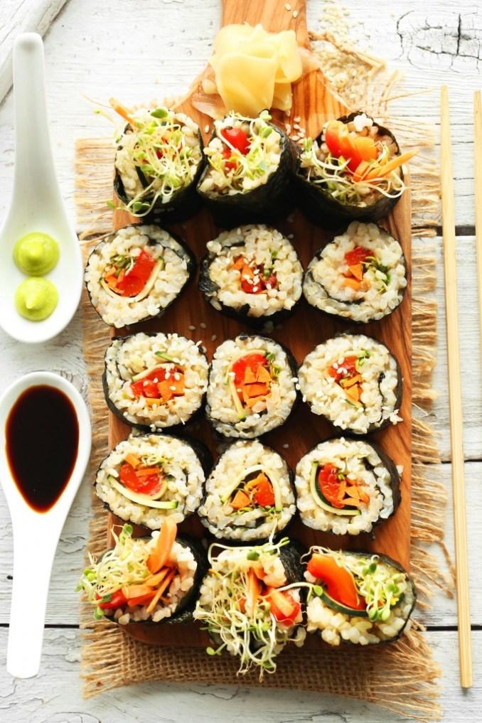 Brown Rice Sushi | Minimalist Baker Recipes
