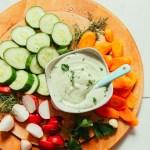 Easy Vegan Ranch Dressing Minimalist Baker Recipes