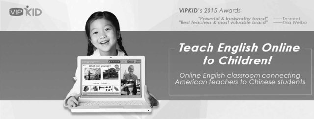 vipkid teach english to chinese kinds online and make money