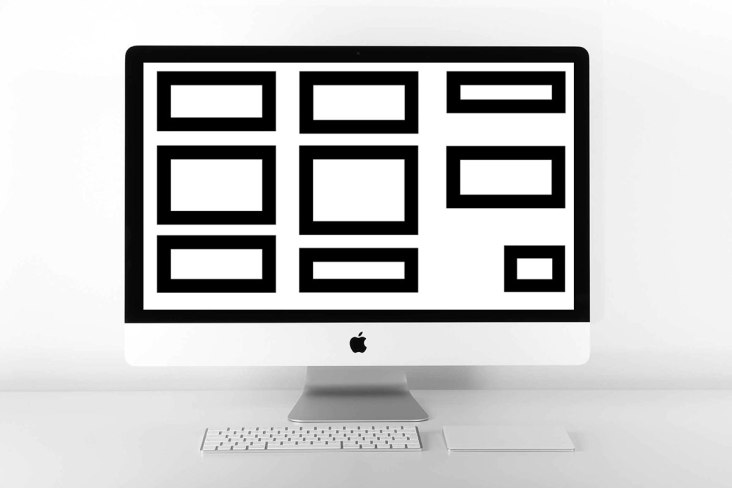 computer minimalista desktop