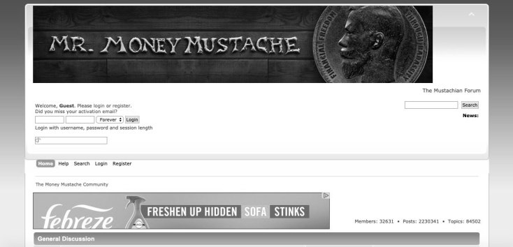 mrmoneymustache forum