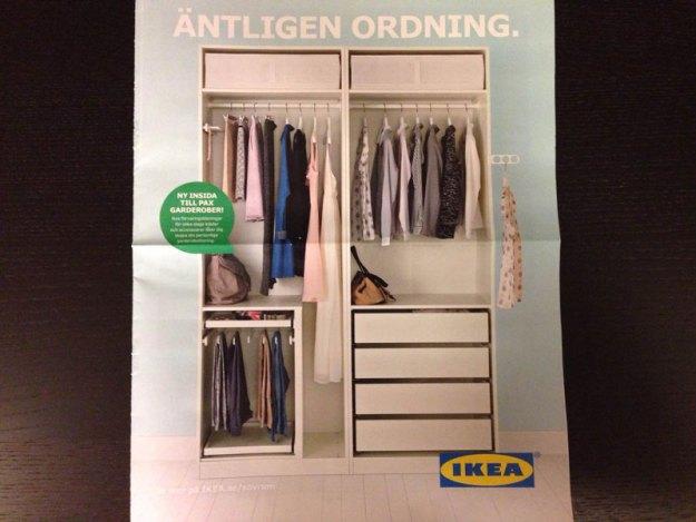 Ikea-garderob