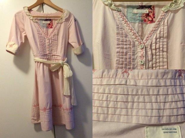 Odd Molly-klänning som såldes med hjälp av Simplet.