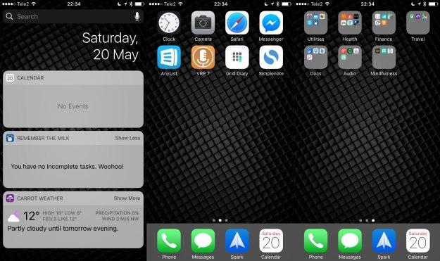 Herr Minimalists mycket mycket tråkiga iPhone.