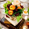 Thanksgiving table decoration ideas easy to make centerpiece fruits