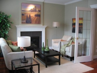 living room decorating furniture wall rooms fireplace designs contemporary space arrange decorate decor focal window point area homedit piece chairs